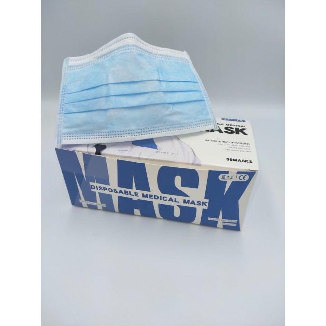 DISPOSABLE SURGICAL MASKS (50/Box)