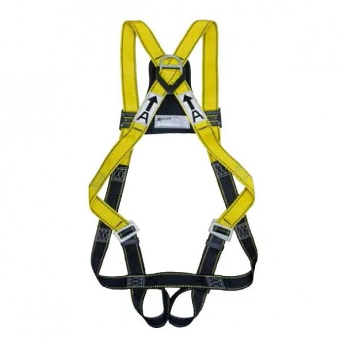 MILLER MB9000, FULL BODY HARNESS, (REAR D RING), EN361 / PSB    ADJUSTABLE THIGH AND CHEST STRAPS, CUSHION BACK PAD