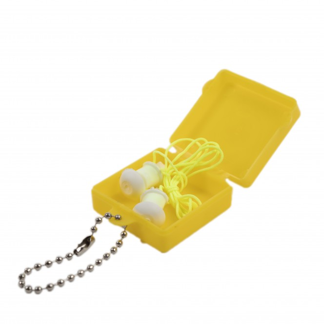 SAFETY SILICONE EAR PROTECTION (EARPLUG)