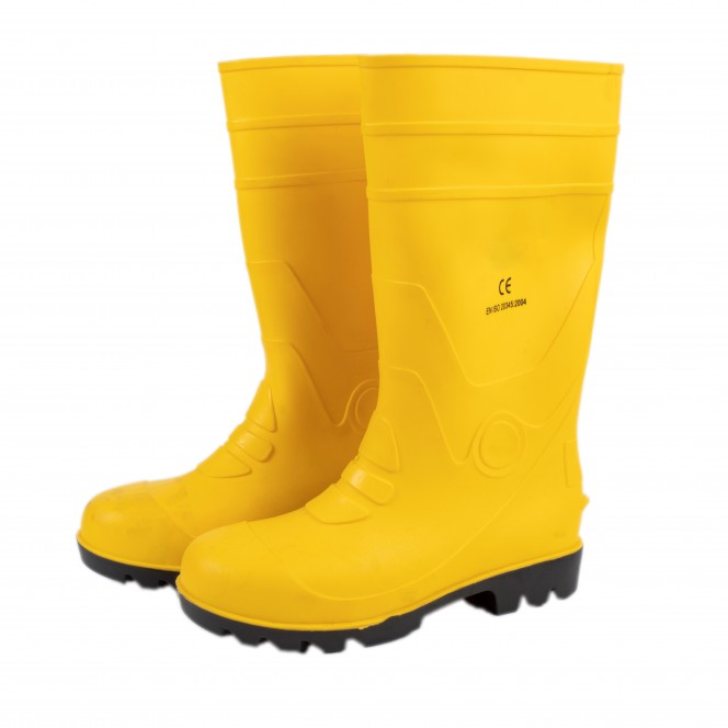 WELLINGTON YELLOW BOOTS (W/Steel Toe) QSS 102-21