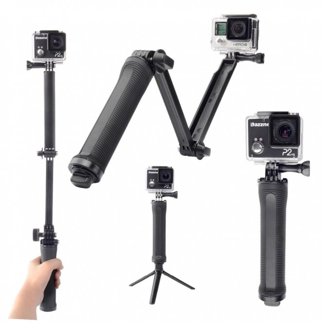 GOPRO 3WAY GRIP ARM TRIPOD