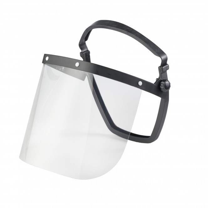 FACE SHIELD WITH FRAME ( II )