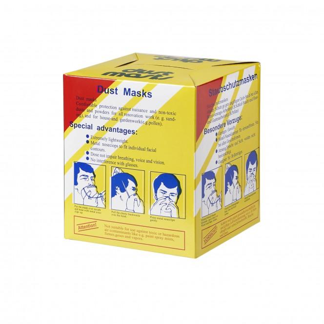 DISPOSABLE DUSK MASKS (50/Box)