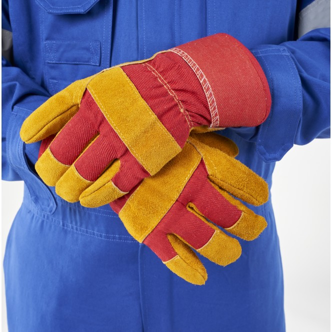 WINTER LEATHER WORKING GLOVES