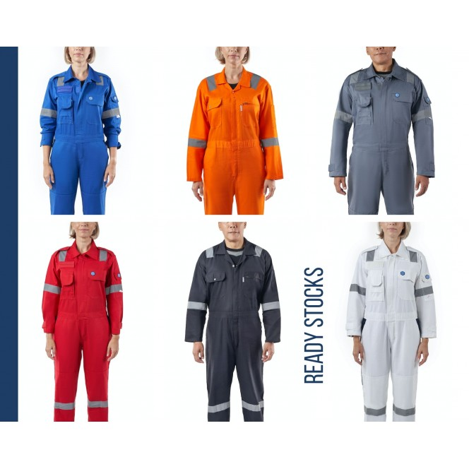 COVERALL (Type 1) | Ready Stocks