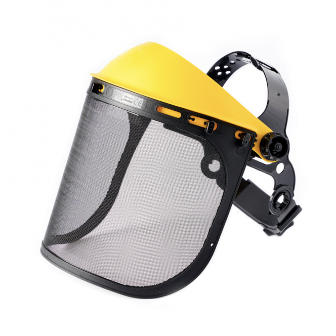 FACE SHIELD WITH MESH