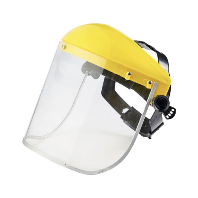 FACE SHIELD WITH FRAME