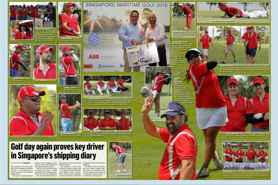 SMN Golf Day - a key driver in Singapore's shipping diary