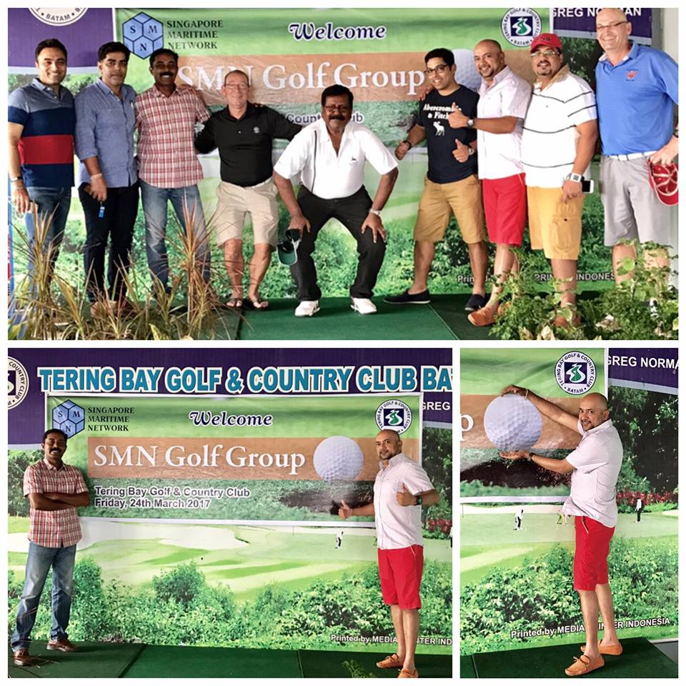 SMN Golf day at Terring Bay, Batam